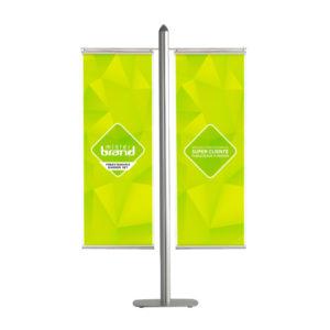 Banner Set Freestanding
