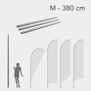 Mastro para Bandeira Promocional - Tam. M - 380cm