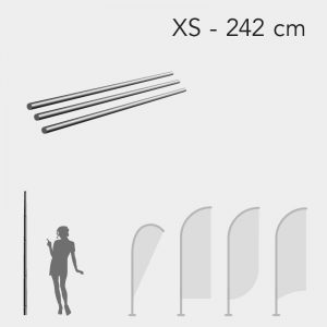 Mastro para Bandeira Promocional - Tam. XS - 242cm