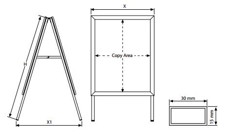 A-Board Standard 32 mm