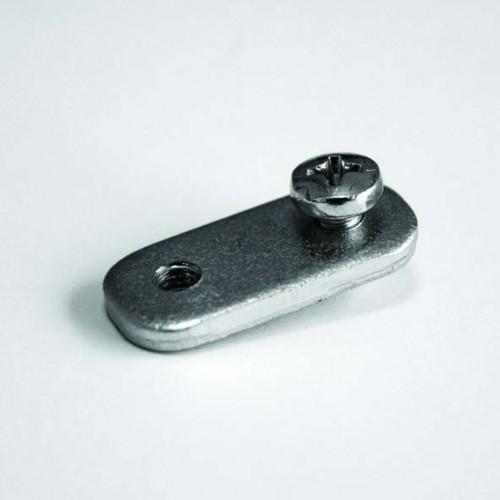 Acessório conector FREE STANDING C/ 1 parafuso para Molduras 25 mm