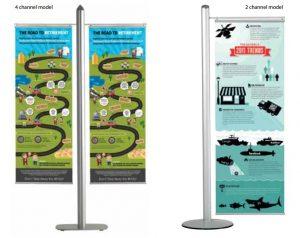 Banner set para Sistema FREESTANDING