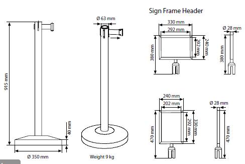 Barreira Q-Belt Basic Aço Inoxidável 3M