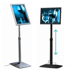 Menuboard LED Optiframe - Telescópico