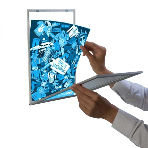 Moldura Magnética de Janela A4