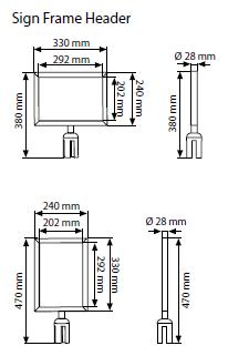 Moldura para Barreira Q-Belt Basic