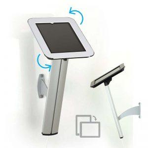 Suporte Kiosk iPad de Parede (compativel com iPad 2, 3 e *4) - Capa Branca