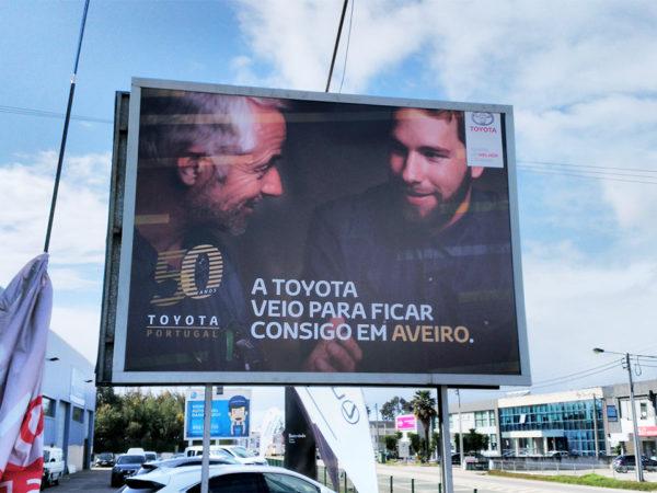 Outdoor - Toyota 50 Anos
