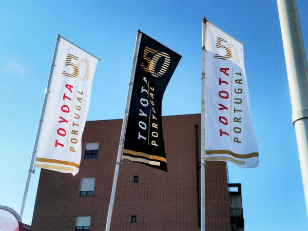 Pendões Toyota 50 Anos