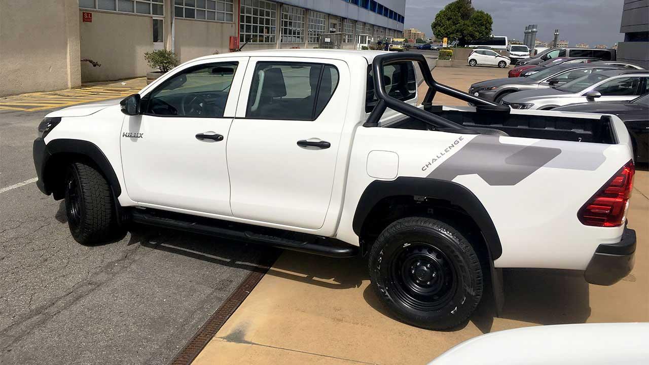 Decoração Toyota Hilux - Challenge