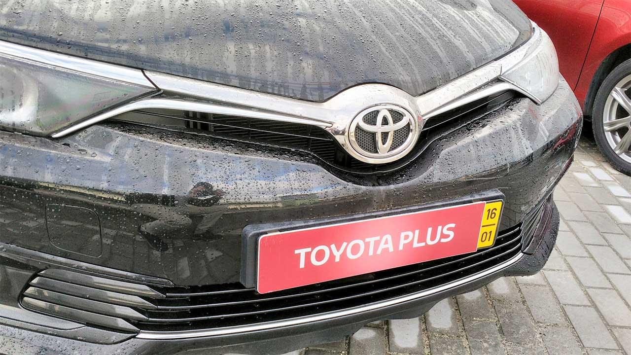 Matriculas Toyota Plus