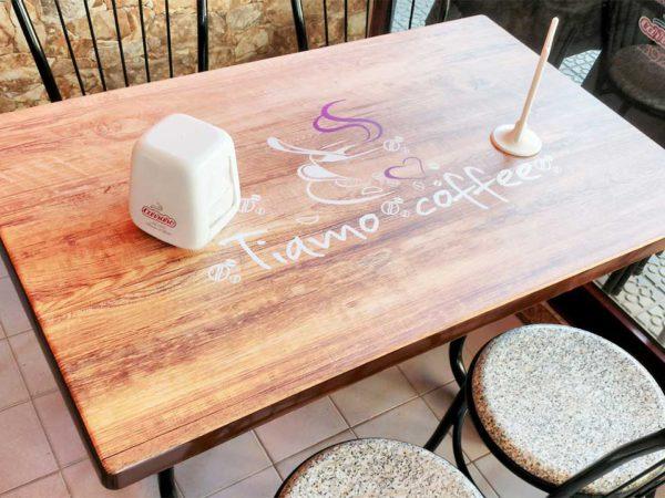 Tiamo Coffee - Decoração do Espaço