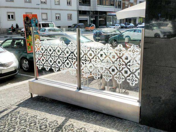 Decoração de Esplanada - San Remo