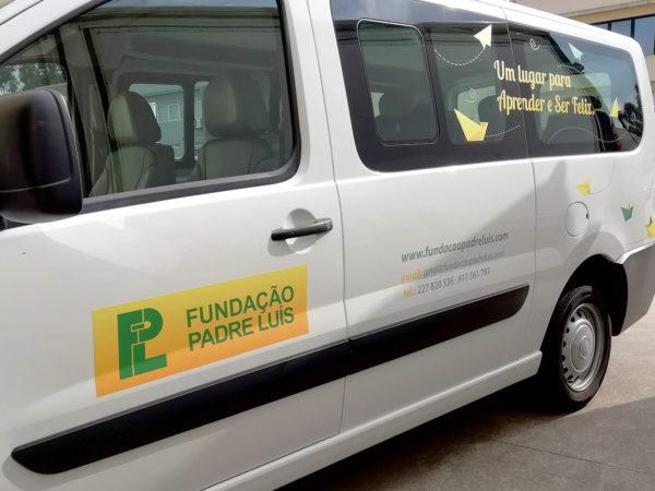 Decoração da Fiat Scudo - Fundação Padre Luís