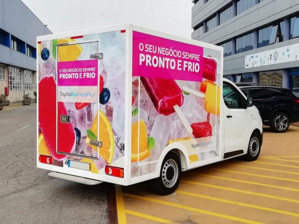 Decoração de Toyota ProAce Frigorifica - FRIOS